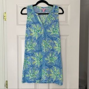 Lilly Pulitzer tank dress with buttons